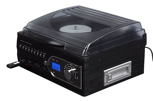 Record Player and CD Player System  Clas Ohlson