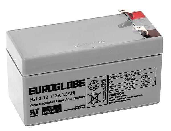 AGM-batteri 12 V - EUROGLOBE | Clas Ohlson