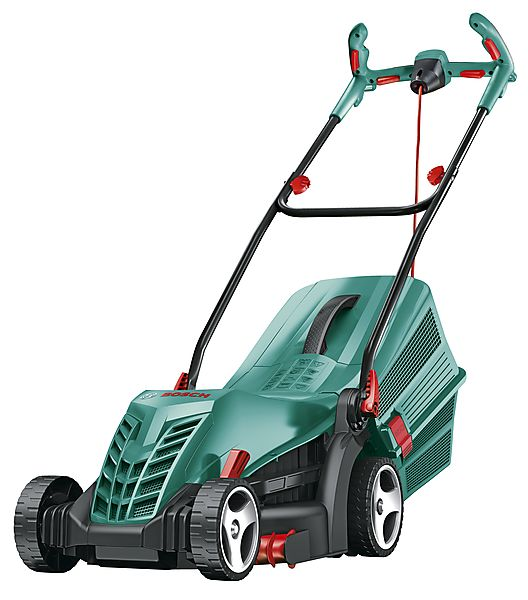 bosch rotak 34 r electric lawnmower bosch clas ohlson. Black Bedroom Furniture Sets. Home Design Ideas