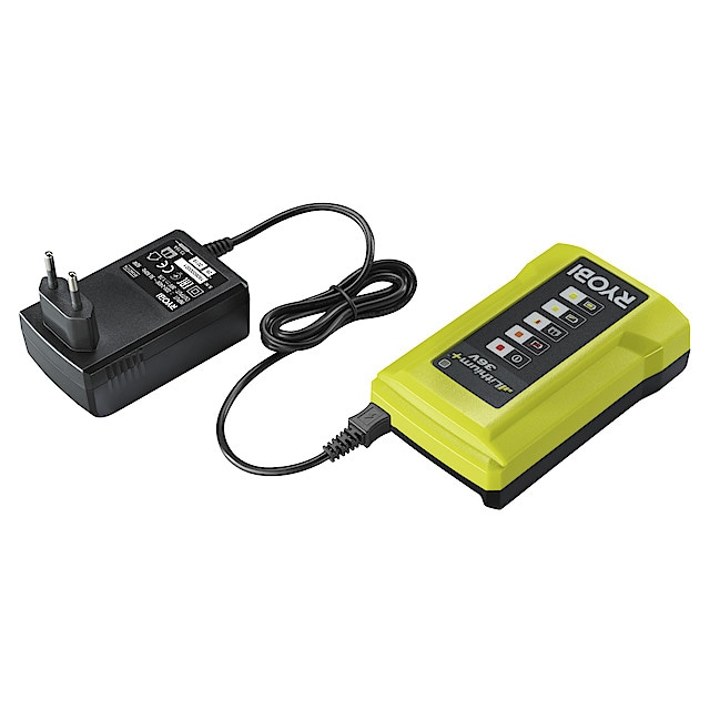 Ryobi RC18627 batterilader for 6 batterier   Clas Ohlson