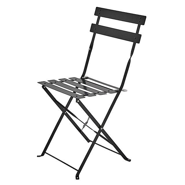 Hopfällbar stol, utemöbler metall | Clas Ohlson