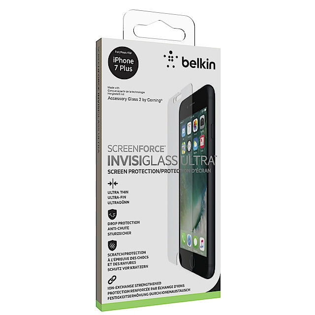 Belkin ScreenForce InvisiGlass Ultra, skjermbeskytter for