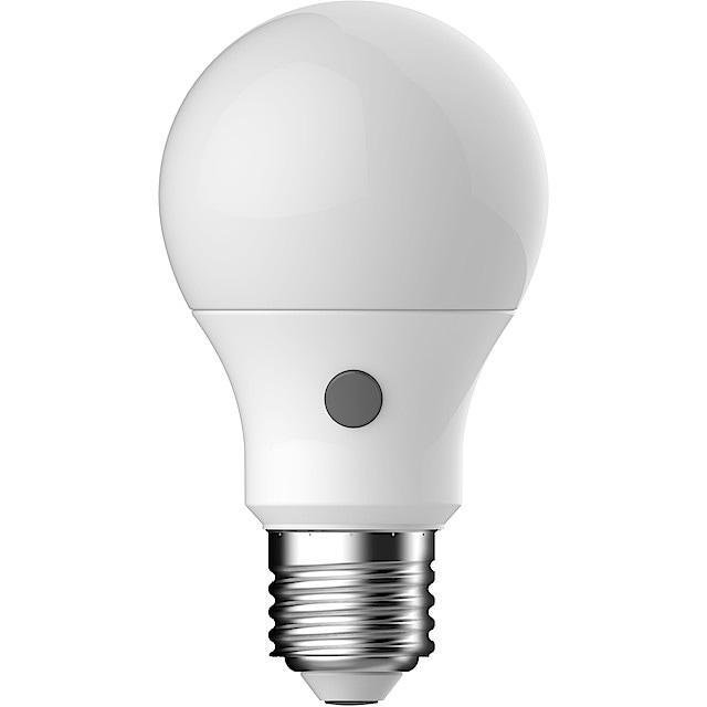 LED lampa med skymningsrelä | Clas Ohlson
