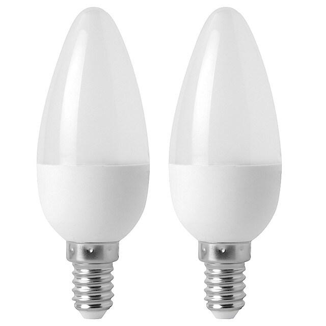 Klotlampa LED E14 Clas Ohlson 2 pack | Clas Ohlson