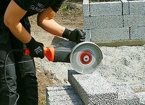 Kapa aluminium med vinkelslip
